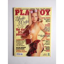 Revista Playboy Sheila Mello Janeiro 2002 Nº318