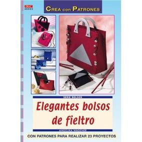 Serie Bolsos. Elegantes Bolsos De Fieltro - Núm Envío Gratis