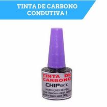 Tinta Condutiva De Carbono Para Eletronica 1 Peça !