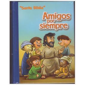Biblia Niños Amigos Por Siempre Reina Valera 1960 Azul