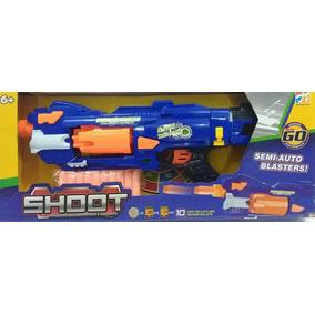Arminha Nerf Lançador Dardos Semi Automatica Soft Gun Grande