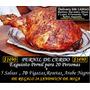 Exquisito Pernil P 20 Personas+24 Sandwich De Miga De Regalo