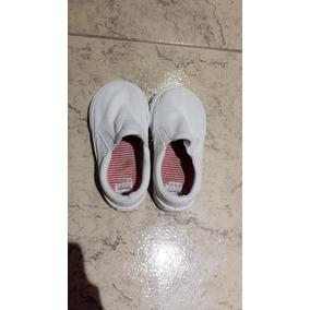 Zapatillas Mini Mimo Blancas Talle 22 Bebe Nene Nena