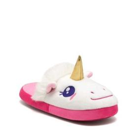 Hermosas Pantuflas Unicornio Dama Andrea Envio Inmediato