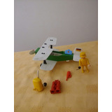 Playmobil Avioneta Avion Biplano C/click Y Acces 6 Cuotas S/