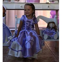 Vestido Princesa Sofia E Boneca