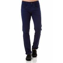Calça Sarja Masculina Slim Fit Preta Lycra Skinny + Cores