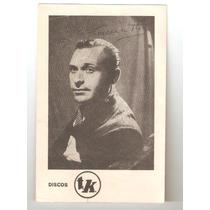 Donato Ricciatti Autografo . Aprox Años 40.