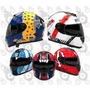 Casco Moto Futbol Boca River Racing San Lorenzo Independient