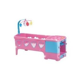 Berço De Boneca Berço Doce Sonho Rosa 8100l Magic Toys