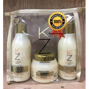 Shampoo, Condicionador E Máscara Reconstrução Capilar Kaizen