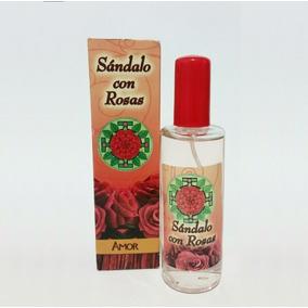 Loción Sándalo Con Rosas Atrae Amor, Protecciòn Y Abundancia