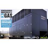 Grupo Electrogeno A Gas Generac 400 Kva Cabinado Con Tablero