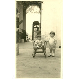 Foto Postal Niños Junin Mendoza 1923 Antigua Infantil