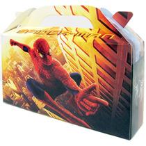 Spiderman Bolsita Golosinera Souvenir Valijita Pack X 10 Un.