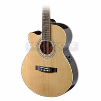 Guitarra Electroacustica Stagg Sa40 Mjcfilh Para Zurdos