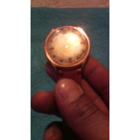 Reloj Antiguo Marca Urbita Enchapado En Oro 17 Rubis