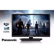 Tv Led Lcd Panasonic Viera 24 Polegadas Hdmi E Usb Nova