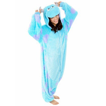 Disfraz / Pijama / Mameluco Sulley Monster Inc Para Adultos