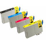 Kit 4 Cartuchos Epson T194 Xp101 Xp201 Xp214 Xp401 Xp411novo