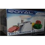 Molino Electrico Royal Para Carne Y Chorizo