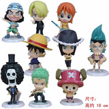 One Piece Figuras Chopper Nami Nico Brook Sanji Y Mas