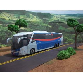 Miniatura De Ônibus Rio Doce G7 1200