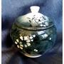 Joyero Ceramica Cala Los Andes Chile Pintado A Mano Numerado