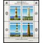 Argentina 1992 Gj 2627/30 Hb 102** Mint Me B68 Faros Iº