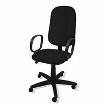 Cadeira Presidente Giratória Flex C/ Lamina Relax E Braço
