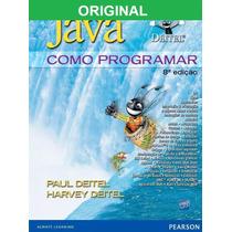 Livro Java Como Programar 8ª Edição - Original