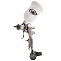 Pistola Goni Gravedad Hvlp Con Vaso De 600ml Mod 324