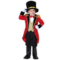 Disfraz Niño Bebe Domador Circo Presentador