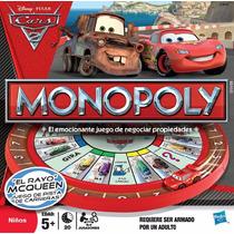 Juego De Mesa Monopoly El Rayo Mcqueen