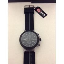 Reloj Marc Ecko Unltd Mod E17516g1 Cronograph Negro