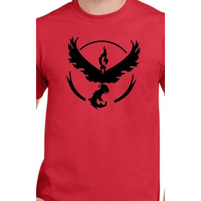 Playera Estampada Pokemon Go Equipo Valor