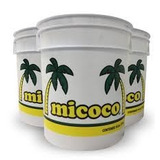 Aceite Coco Micoco Cubeta 19 Litros Cosmético Comestible
