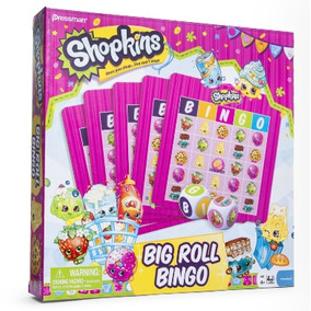 Shopkins Bingo Juego De Mesa