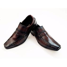 Sapato Social Masculino Tamanho Grande 45 46 47 Bico Fino