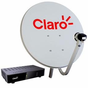 Kit Claro Livre Pre C/ Receptor+antena+lnb+cabo Completo