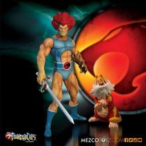 Lion-o E Tygra - Thundercats Classic - Mezco - 37 Cm Alt