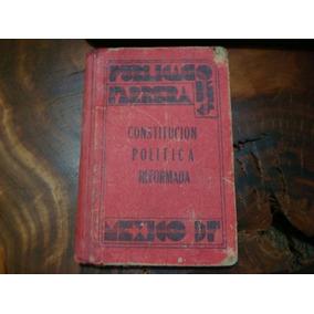 Libro Antiguo Constitución Política De 1946