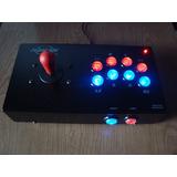 Playcade Arcoiris Nite, Usb Pc Y Ps3, Joystick Arcade Mame