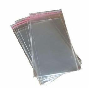 Saquinhos Adesivado Para Adesivo De Unha 6x9 Cm 100 Unidades