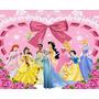 Papel De Parede Adesivo Decoração Princesas Disney 6m2