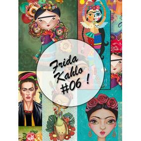 Frida Kahlo #06! Lámina Decoupage Autoadhesiva 30 X 42 Cm