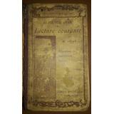 Libro Lecture Courante Frances- 1902
