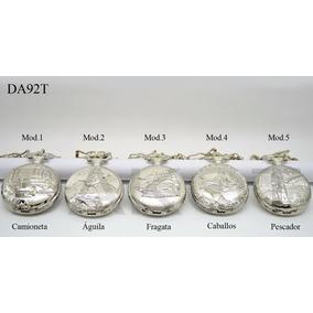 Nuevo Reloj Bolsillo Dakot Estilo Antiguo Metal Est Da92t