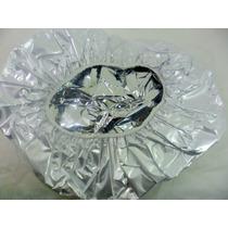 Touca Metalizada Função Térmica Para Hidratação De Cabelos