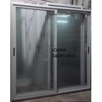 Puerta Balcon Aluminio Linea Modena 2.00 X 2.00 Oferta!!!!!